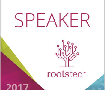 Speaker at RootsTech 2017